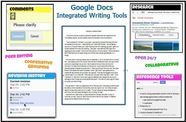 5 Ways To Use Google Docs In The Classroom Getting Smart By Susan Oxnevad