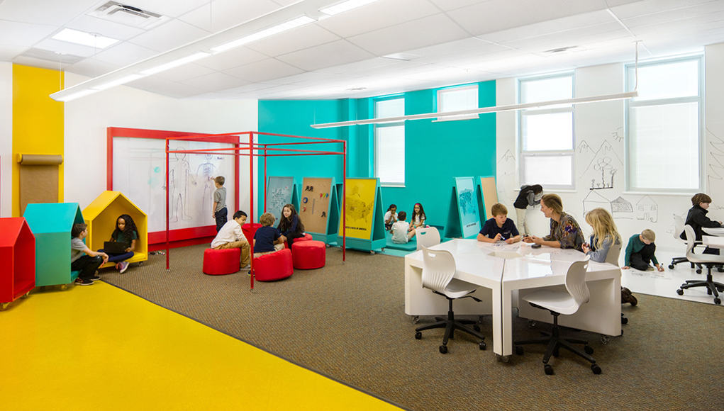 Classroom Wallpaper Design : Three ways to design better classrooms and learning spaces