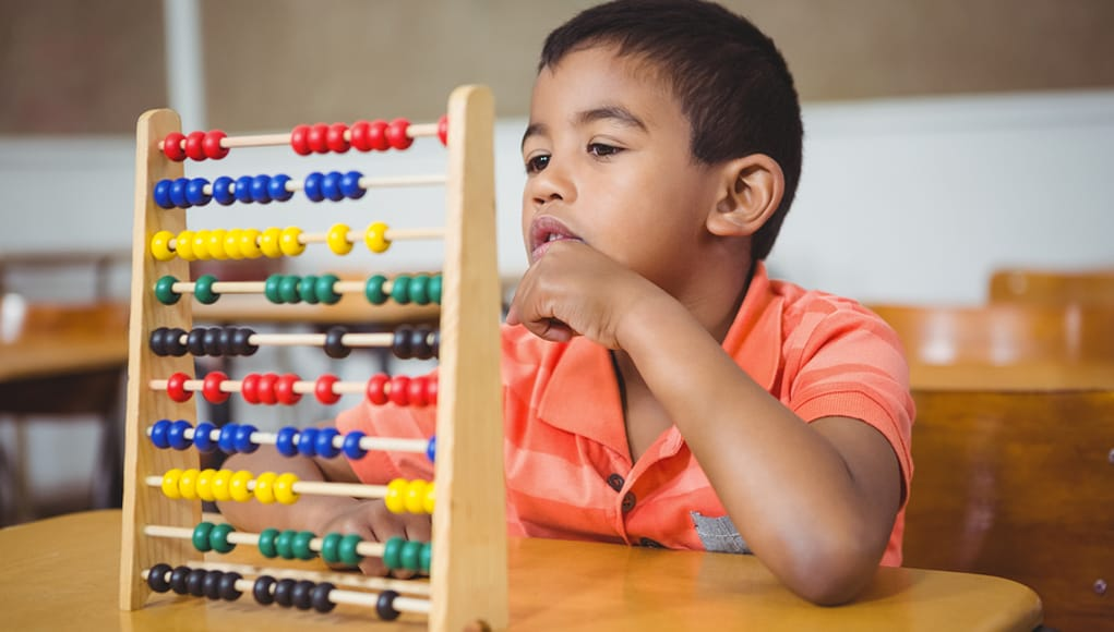 Math English language learner Using Abacus