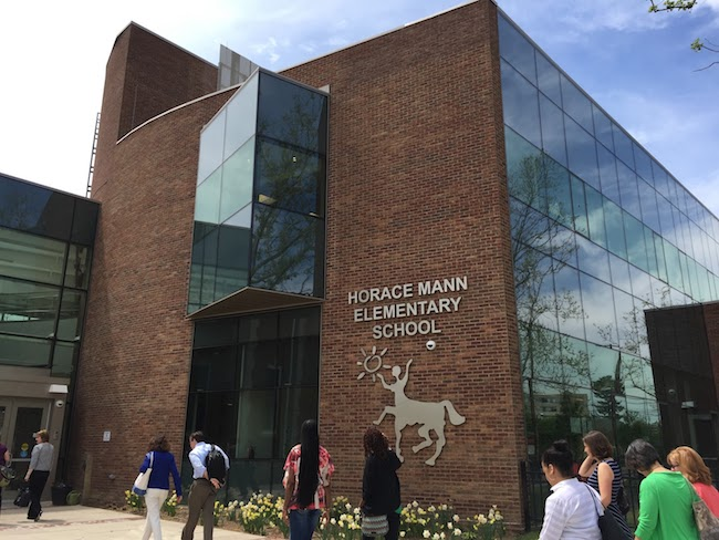 Horace Mann's Building exterior, one of our schools worth visiting