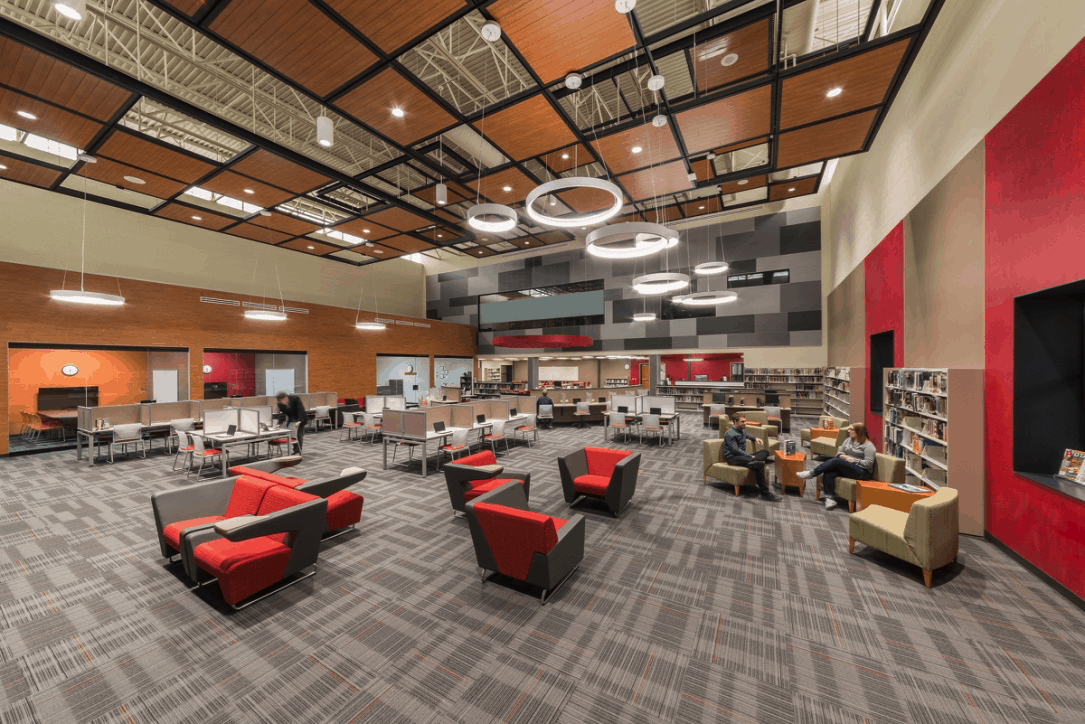 Huntley HS learning space